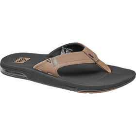 Reef Fanning 2.0 Teenslippers Heren, black/tan